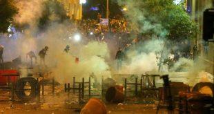 جانب من الاشتباكات في بيروت