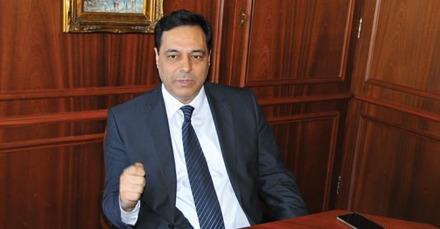 حسان دياب رئيس الوزراء في لبنان