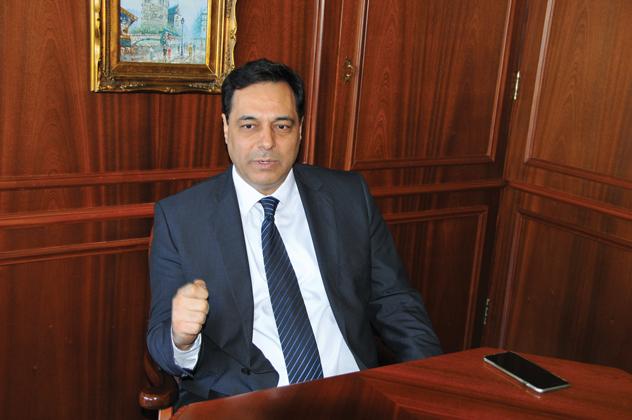 صورة الحكومة اللبنانية تنال ثقة البرلمان