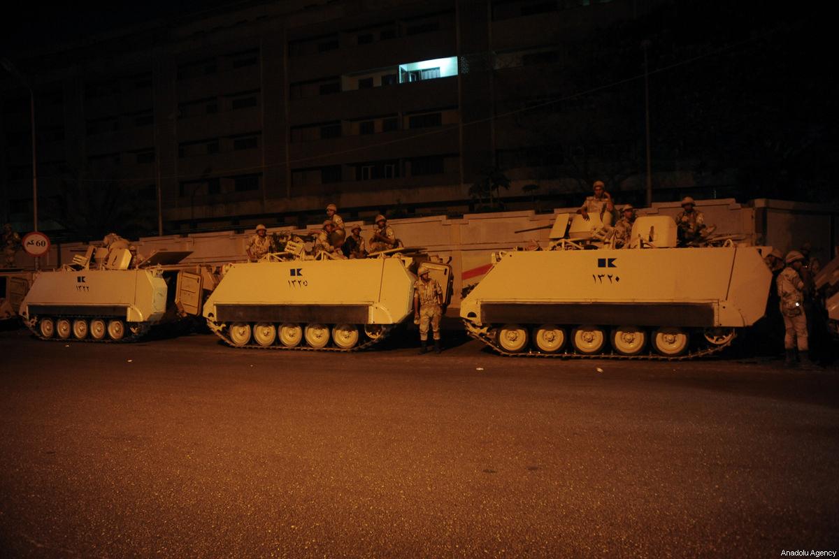 صورة قاعدة عسكرية مصرية جديدة لتأمين قناة السويس