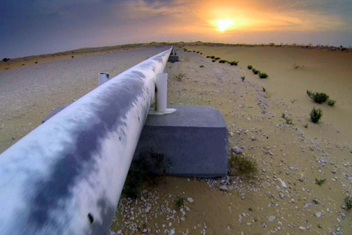 صورة الأردن يتلقى أول شحنة من الغاز الطبيعي الإسرائيلي
