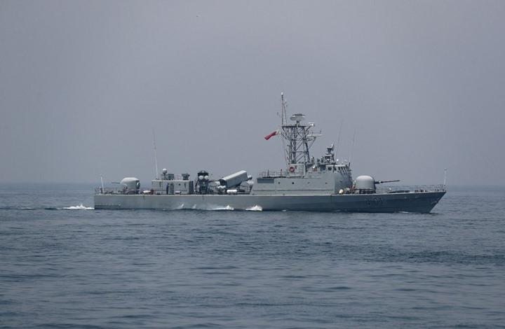 قطعة بحرية تابعة للقوات الأميرية البحرية القطرية
