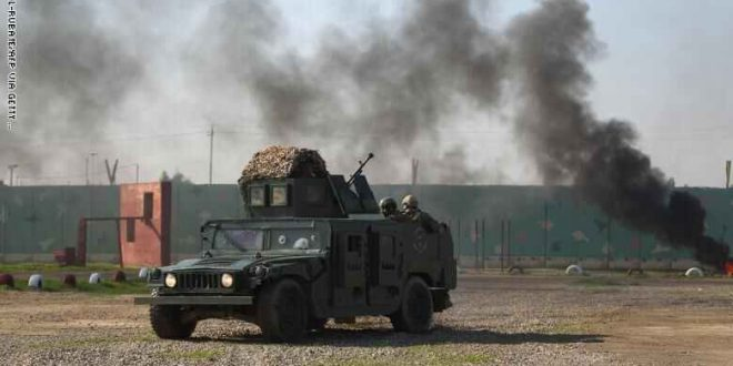 قوات أمريكية في قاعدة عسكرية في العراق