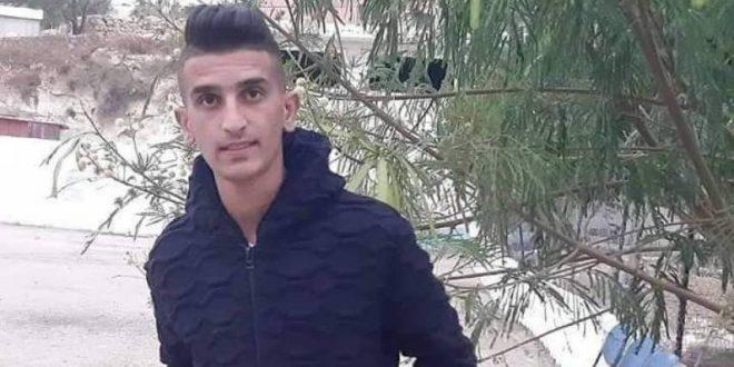 الشهيد هو بدوي خالد مسالمة (18 عامًا)