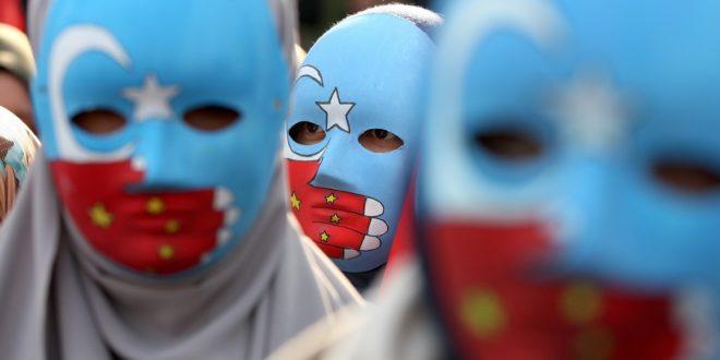 وقفة تضامنية مع المسلمين الأويغور