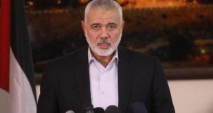 رئيس المكتب السياسي لحماس إسماعيل هنية