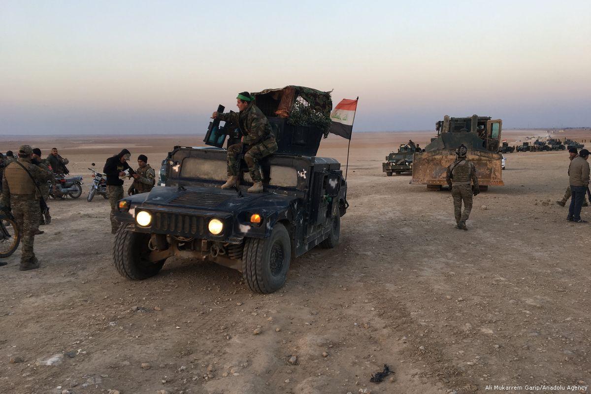 عناصر من الميليشيات العراقية الداعمة للحكومة