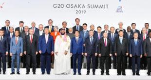 اجتماع مجموعة العشرين العام الماضي في اليابان