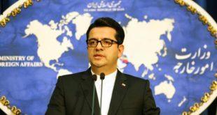 المتحدث باسم وزارة الخارجية الإيرانية عباس موسوي