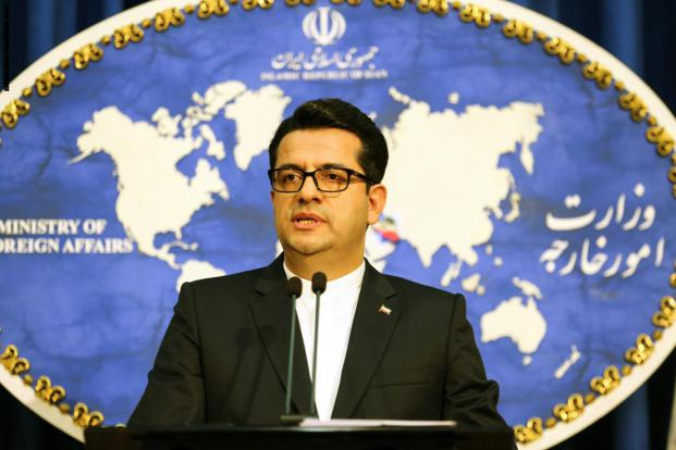 المتحدث باسم وزارة الخارجية الإيرانية عباس موسوي دعا إلى عدم تسييس انفجار بيروت