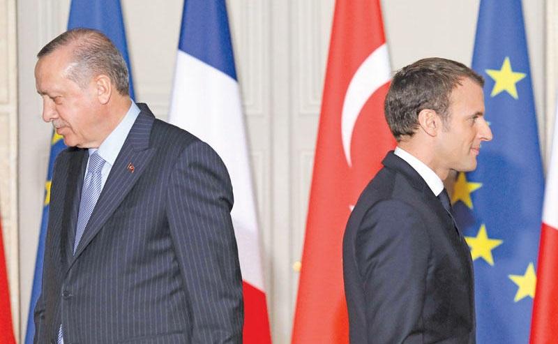 صورة فرنسا مستمرة بالتصعيد ضد تركيا والأخيرة ترد بشكل قوي