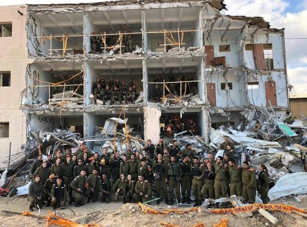 جانب من المناورة التي أجراها جيش الاحتلال الاسرائيلي
