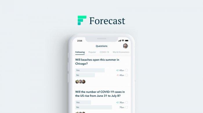 تطبيق فوركاست التبؤ بالمستقبل