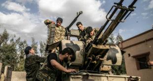 مقاتلون من حكومة الوفاق الليبية المعترف بها دوليًا