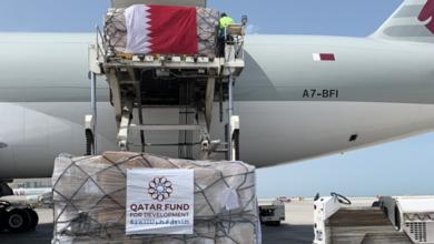 صورة مساعدات إنسانية قطرية جديدة لسوريا بـ100 مليون دولار