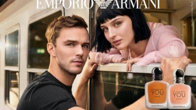 """صورة علامة """"EMPORIO ARMANI"""".. قصة حب بأبطالٍ جدد"""