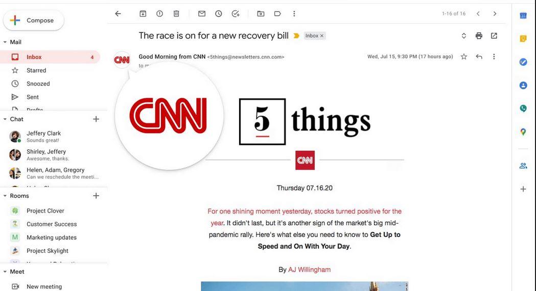 جوجل تعتزم استخدام الشعارات الموثوقة للحد من الاحتيال في جيميل