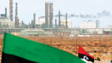 أحد حقول إنتاج النفط التابعة لـ شركة النفط الوطنية الليبية