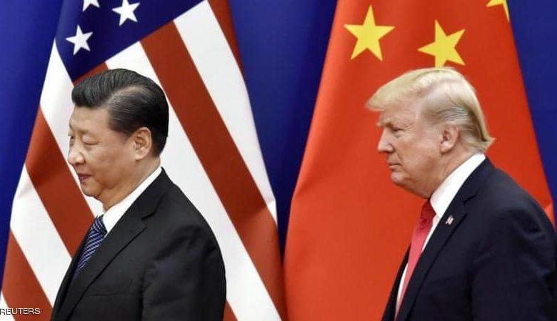 الرئيس الامريكي دونالد ترامب والرئيس الصيني شي جين بينغ