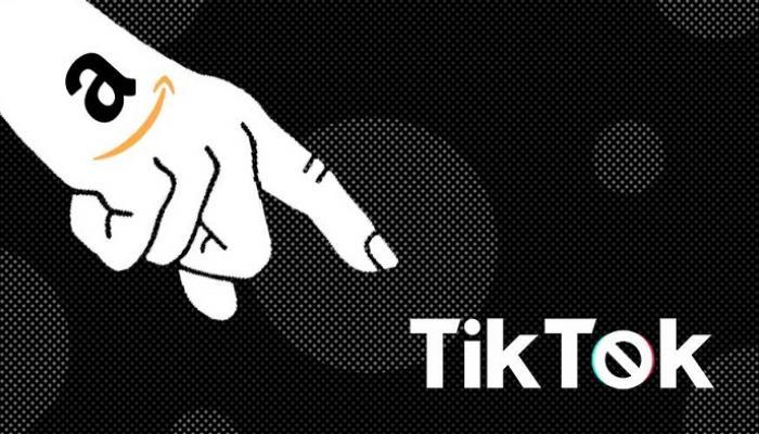 تراجع أمازون بسبب تيك توك