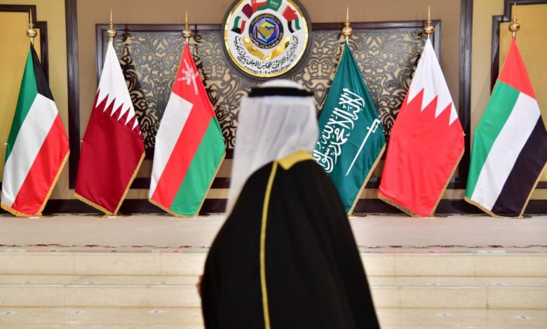 أعلام دول مجلس التعاون الخليجي