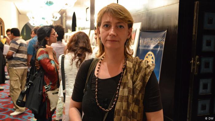 الناشطة الألمانية هيلا مويس
