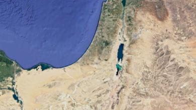 صورة لفلسطين التاريخية عبر خرائط غوغل ايرث