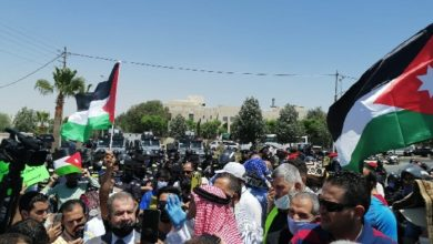 Photo of قمع تظاهرة قرب السفارة الأمريكية بالأردن