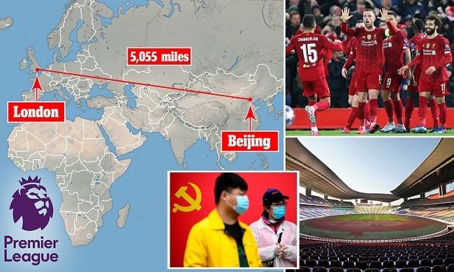 الصين والدوري الإنجليزي