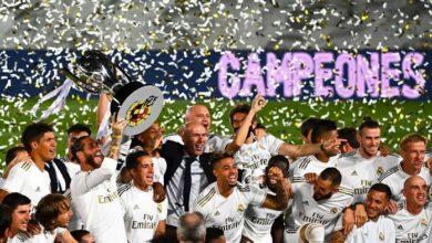 صورة الملكي فعلها.. رسمياً ريال مدريد بطلاً للدوري الإسباني