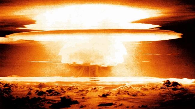 صورة تحاكي انفجار نووي