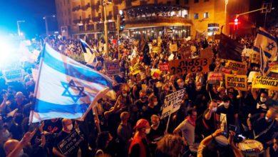 Photo of الآلاف يحتجون ضد نتنياهو بسبب الفساد وفشله في التعامل مع كورونا