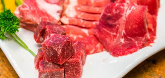 التعرف على اللحوم الفاسدة