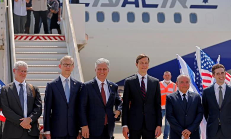 وفد أمريكي إسرائيلي غادر إسرائيل إلى الإمارات لوضع اللمسات الأخيرة على اتفاق التطبيع