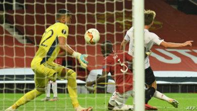 صورة مانشستر يونايتد إلى ربع نهائي الدوري الأوروبي