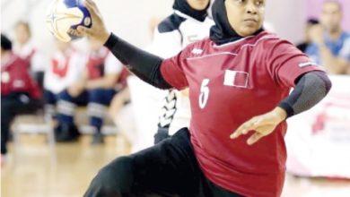 لاعبة كرة اليد سليمة المري