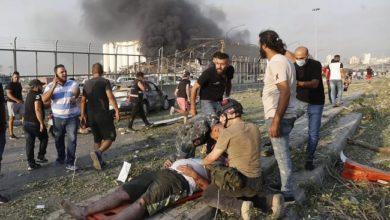 """صورة """"لحظة تضامن الأخ مع أخيه"""".. حملة قطرية لـ إغاثة لبنان"""