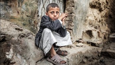 عدد الأطفال الذين يعانون من المجاعة سوء التغذية في اليمن قد يصل إلى 2.4 مليون
