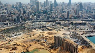 صورة ماكرون: مستقبل لبنان يتحدد الآن.. بيان المؤتمر: لن نخذل اللبنانيين