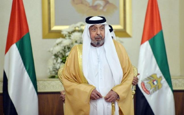 الرئيس الإماراتي الشيخ خليفة بن زايد آل نهيان