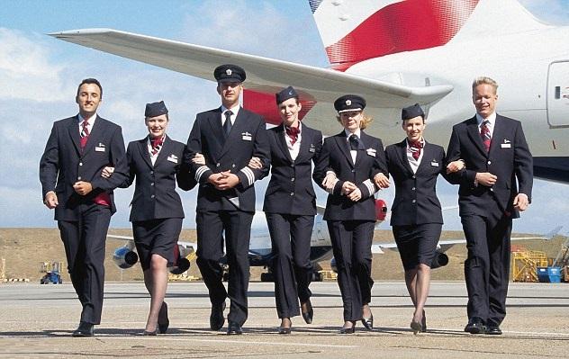 عدد الوظائف التي تعتزم الخطوط الجوية البريطانية خفضها نحو 10700 وظيفة