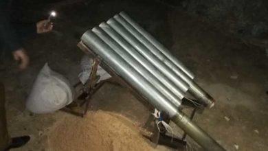 منصة إطلاق صواريخ استهدفت المنطقة الخضراء (أرشيف)