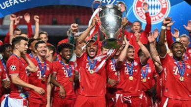 بايرن ميونيخ يرفع كأس أبطال أوروبا