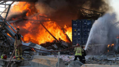 Photo of الرئيس اللبناني: انفجار بيروت ربما نجم عن تدخل خارجي
