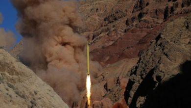 صورة السعودية تسقط صاروخًا أطلقه الحوثيون باتجاه نجران