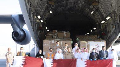 صورة ضمن جسر جوي.. أول طائرة مساعدات قطرية تغادر إلى بيروت