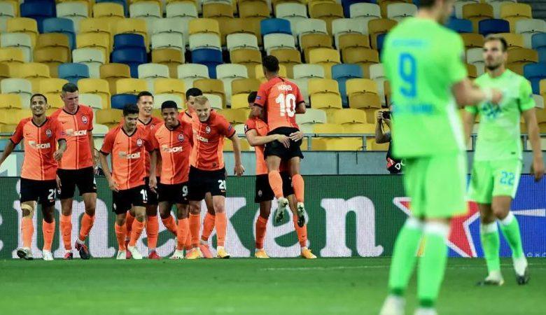 تأهل نادي شاختار دونيتسك الأوكراني إلى ربع نهائي الدوري الأوروبي
