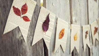 صورة أفكار عصرية لتزيين المنزل في موسم فصل الخريف