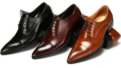 صورة طرق سهلة ومبتكرة لتنظيف الأحذية الجلدية