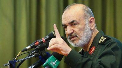 صورة قائد عسكري إيراني: إنشاء الولايات المتحدة داعش وسّع نفوذنا